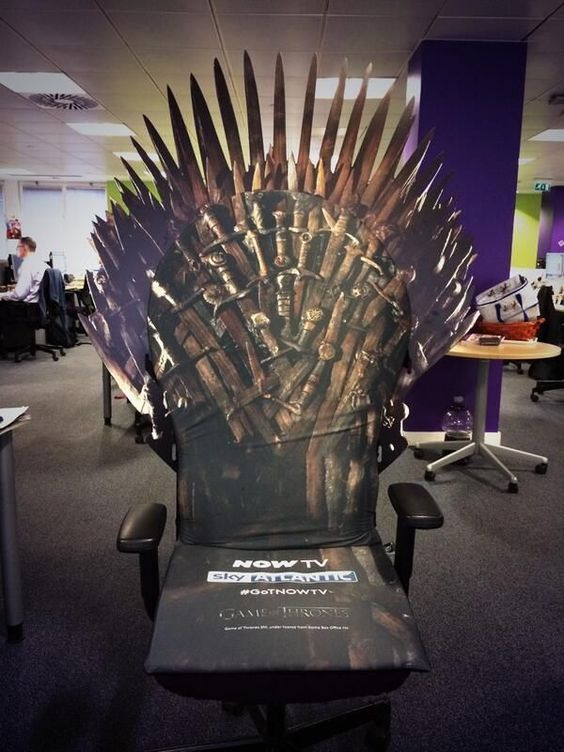 game of chairs and office chairs on pinterest
