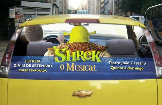 Shrek O musical - Rio de Janeiro
