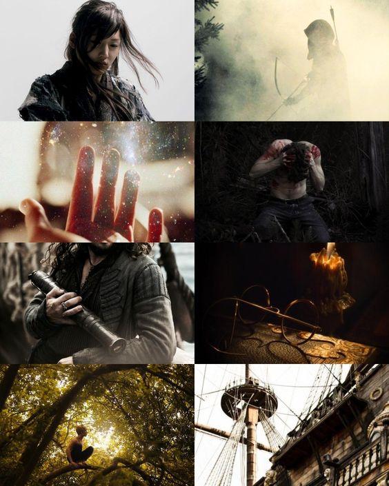 Sefia and archer - the reader - traci chee - aesthetics