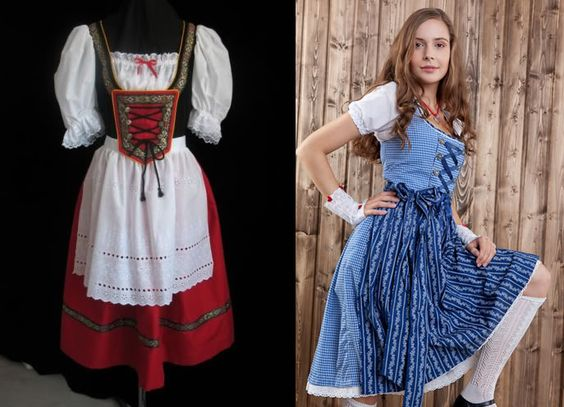 Dirndl - traditional German dress from Bavaria ...