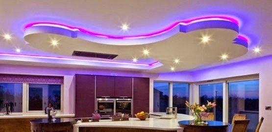 Ceiling Light Idea For Living Room Beautiful Led False Ceiling Lights For Living Room Led Strip In 2020 Ceiling Lights False Ceiling Design False Ceiling