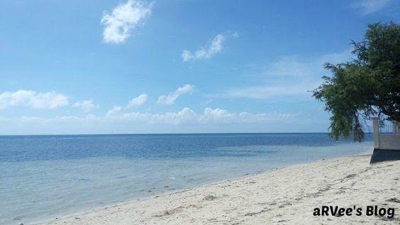 At the seashores in Alcoy, Cebu, Philippines