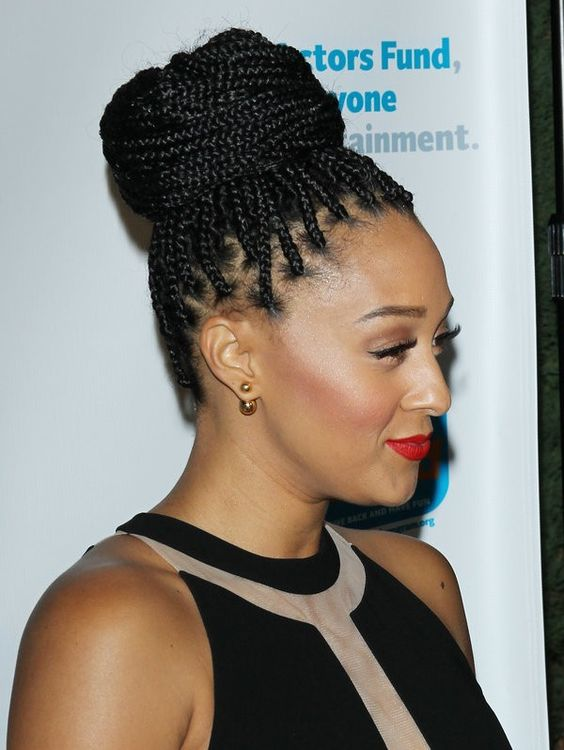 30 Popular Hairstyles for Black Women | Braided Bun | Hairstyle on Point