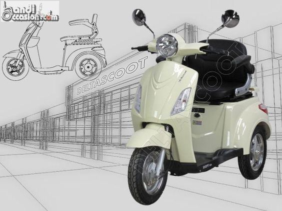 scooter 3 roues deltascoot shopy 800 trois r annonces handi occasion pinterest chang 39 e. Black Bedroom Furniture Sets. Home Design Ideas