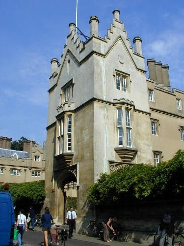 Sidney Sussex College: Sidney Street: gatehouse (Jeffry Wyatville)