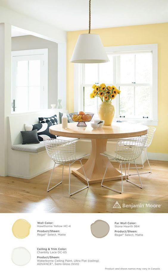 COLOR SPOTLIGHT – Benjamin Moore Hawthorne Yellow | ROWE SPURLING PAINT COMPANY