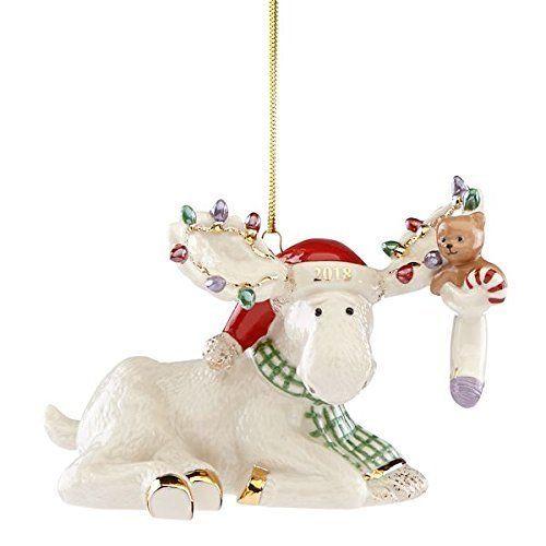Lenox 2018 Marcel S Christmas Stocking Moose Ornament For More Information Visit Image Link Christmas Ornaments Lenox Christmas Ornaments Lenox Christmas