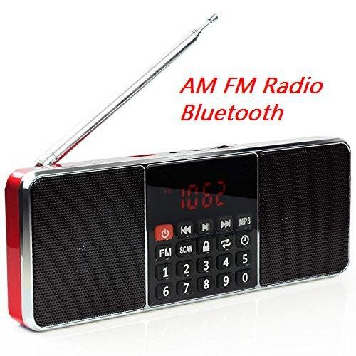 #Specifications: FM radio frequency:87.5-108MHZ AM radio frequency:522-1710KHZ BT Version:2.1 BT distance:10 meters Decoding:8-320KBPS S/N:87db Speaker:40mm 16c...