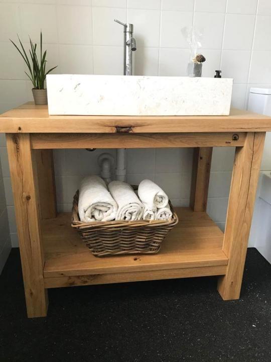 Waschtisch Aus Eichenbalken Waschtisch Holz Unterschrank Waschtisch Waschtisch Landhaus