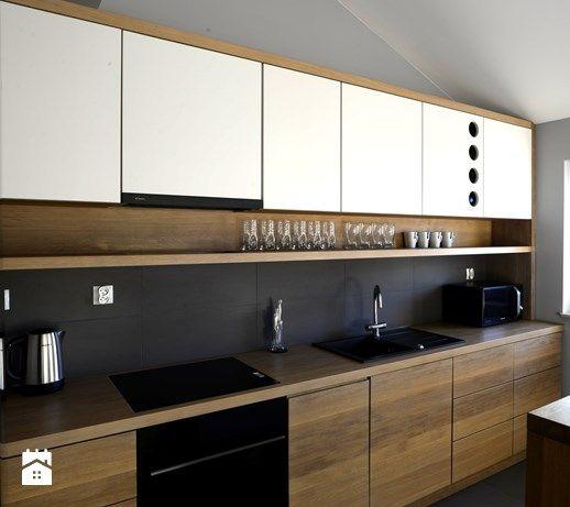 Aranzacje Wnetrz Kuchnia Kuchnia 2 Srednia Kuchnia Jednorzedowa Styl Skandynawski Kitchen Interior Design Modern Industrial Kitchen Design Kitchen Design
