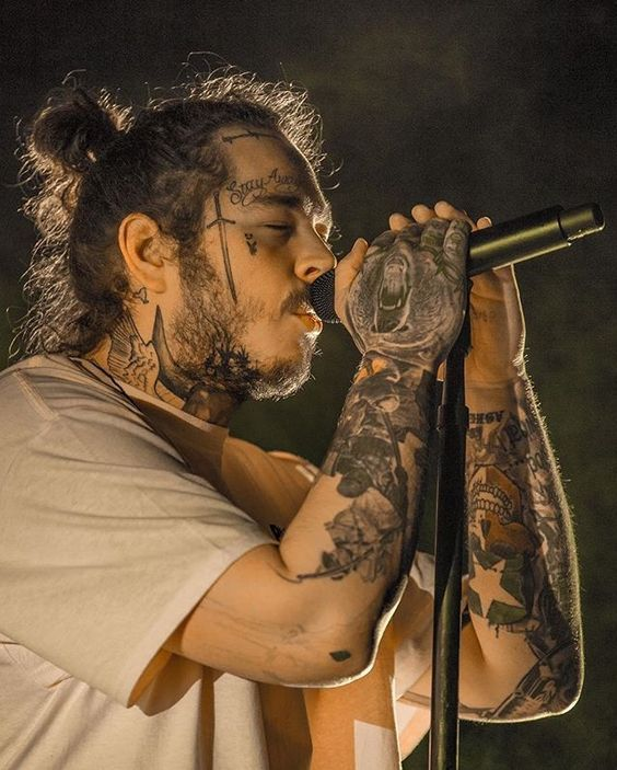 List Of Top Pics Of Some Of The Best Hiphop And Rap Artists New And Old Pictures From Artist Such As Dra Post Malone Lyrics Post Malone Wallpaper Post Malone