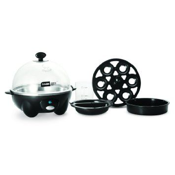 Amazon.com: Dash Go Rapid Egg Cooker, Black: Electric Egg Cookers: Home & Kitchen