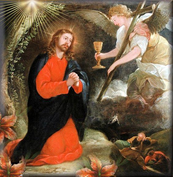 Jesus en el Huerto de Getsemani krouillong comunion en la mano es sacrilegio 1