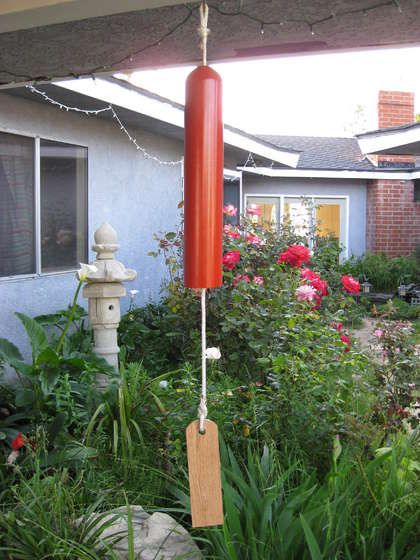 Compressed Gas Cylinder Wind Chime