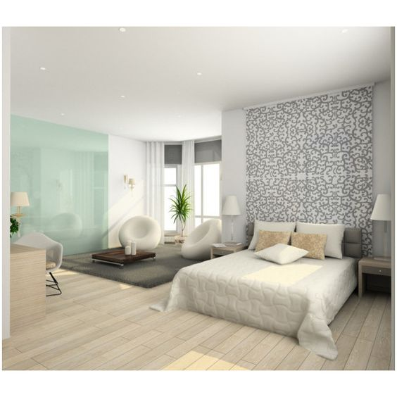 Cool Bedroom Ideas ❤ liked on Polyvore