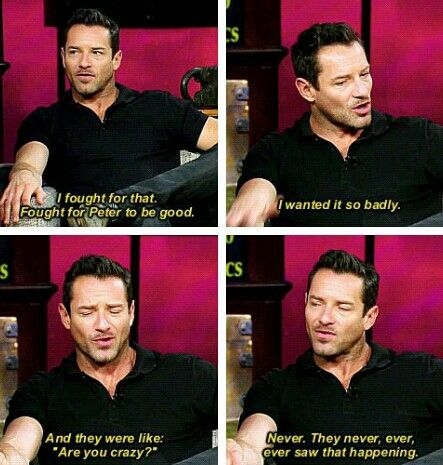 Ian Bohen on #WolfWatch < I'm with Ian! Peter had the potential to be a really great reluctant good guy! But for some reason they have to cram 3 or 4 main bad guys into each season–it's nuts!