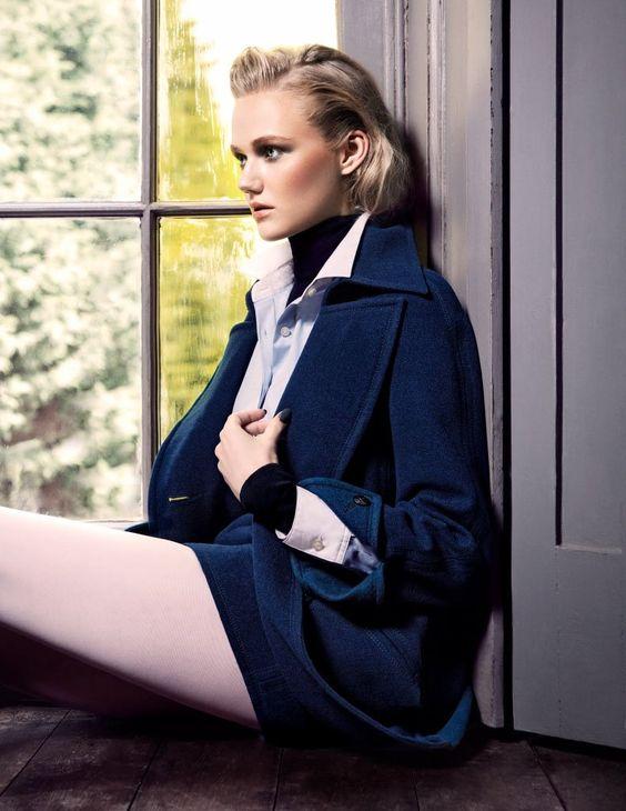 Emma Skov by Iakovos Kalaitzakis in The Big Chill for Fashion Gone Rogue