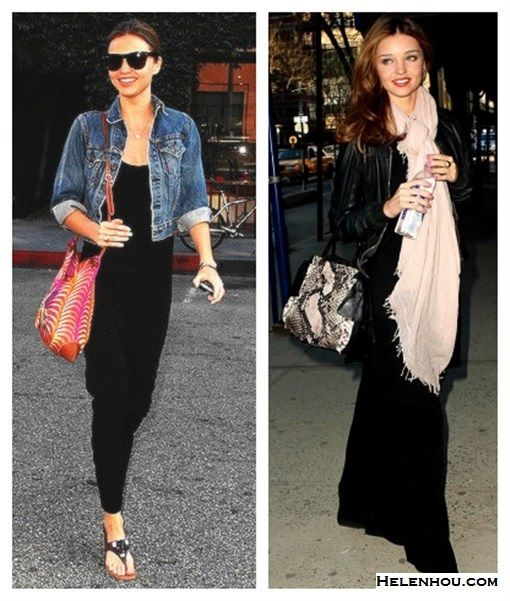 how to wear maxi dresses what to wear with maxi skirt Miranda ...
