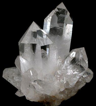 Kalnų krištolo kristalas