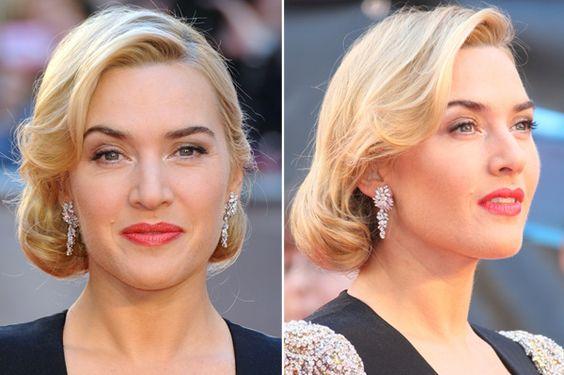 hairstyle crush on Kate Winslet's elegant 'do