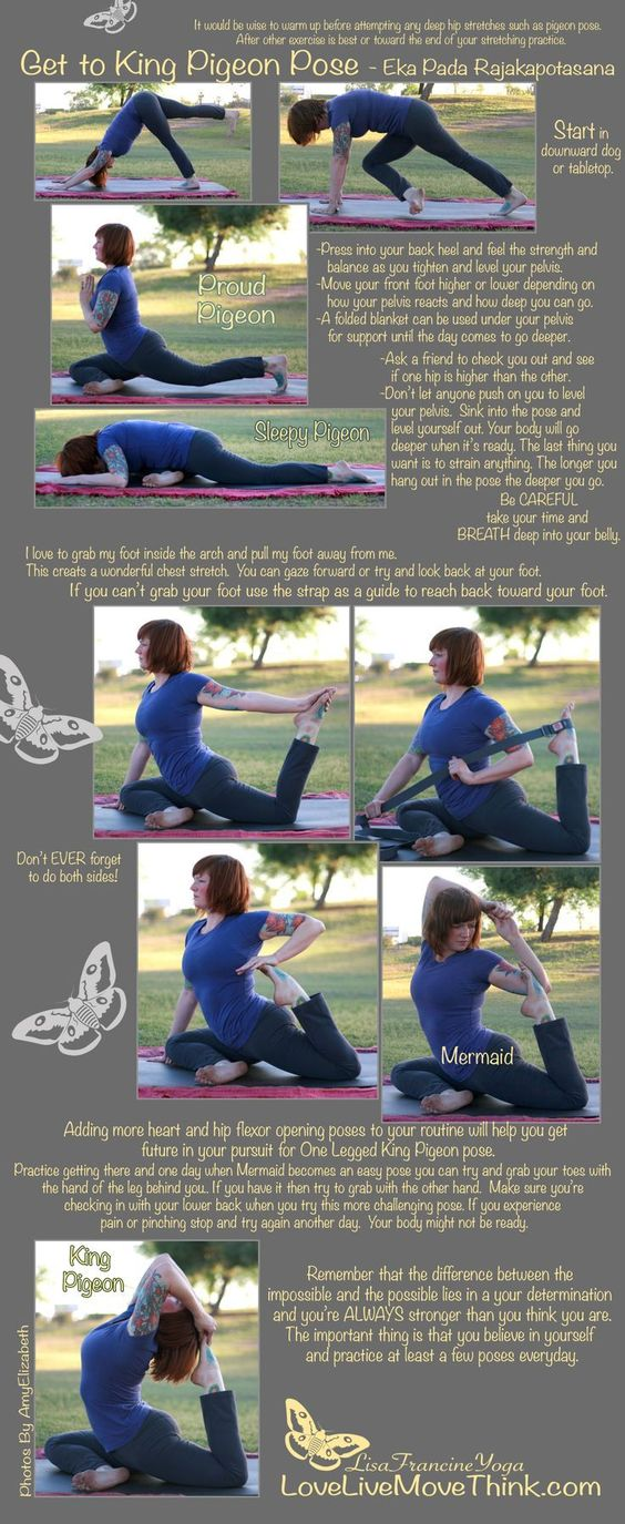 (Kapotasana) Pigeon Pose Benefits | Posturas de yoga ...
