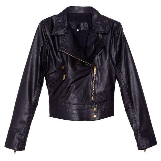 casaco couro