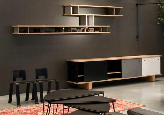 Wohnzimmer Regalsysteme Ikea TV Möbel