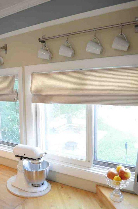Simple Kitchen Window Treatments diy kitchen window treatments | kitchen windows ideas | pinterest