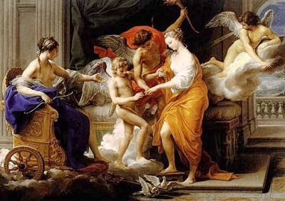 Butterflies eternal: The myth of Cupid and Psyche The Wedding of Psyche by Luca Giordano