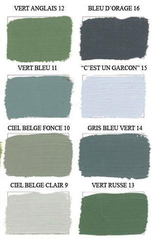 palette de verts bleus et gris de toutes les couleurs pinterest amour couleurs et cuisine. Black Bedroom Furniture Sets. Home Design Ideas