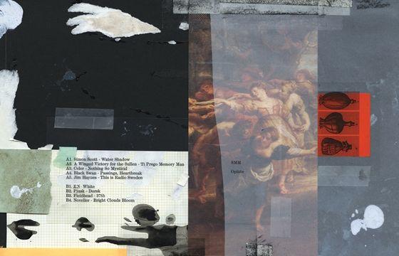 Juxtapoz Magazine - The Works Of Michael Cina. Recortes, abstrações; eu poderia usar esmalte pra fazer umas pinturas (tem bst ideia de abstração aqui