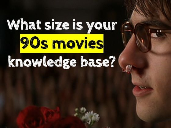 What Size Is Your 90s Movies Knowledge Base?