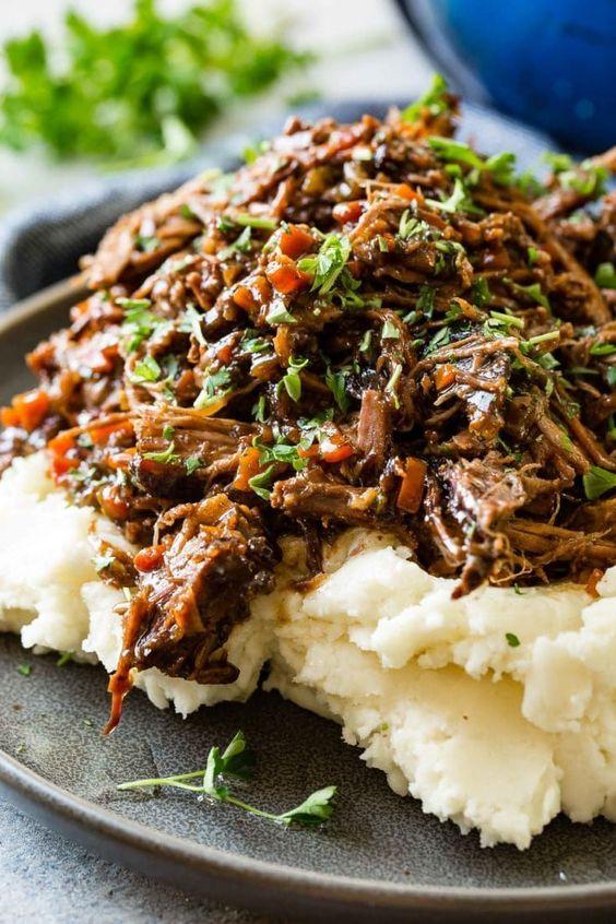 Oven Braised Beef Roast