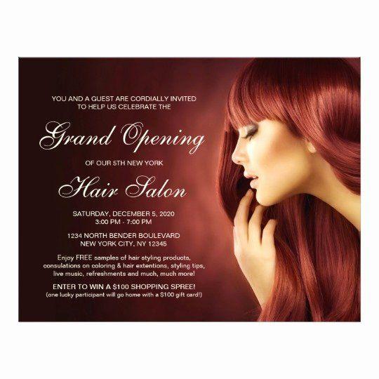 Hair Flyers Free Template Elegant Hair Salon Grand Opening Flyer Templates Hair Salon Grand Opening Grand Opening Invitations