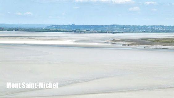 Depuis le Mont Saint-Michel #Voyages #Normandie http://elisaorigami.blogspot.com