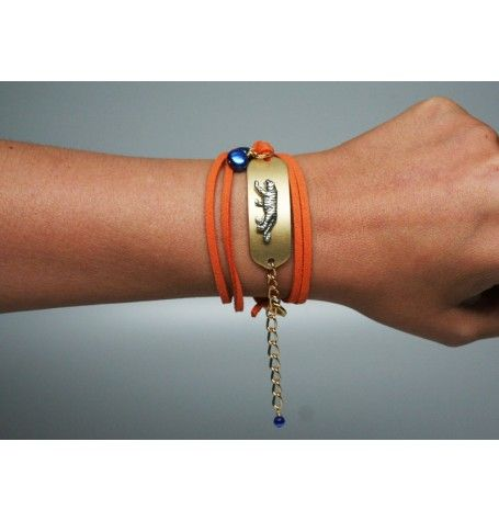 War Eagle and ny gane day bracelet proves it!