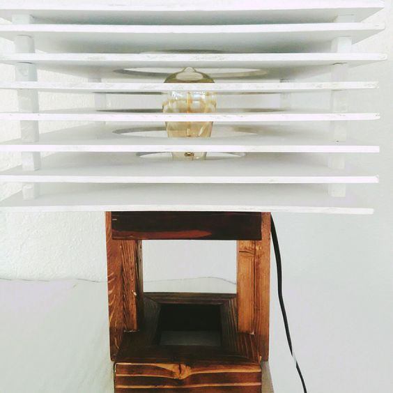 Contemporary Table Top Lamp