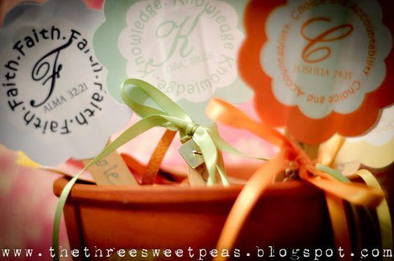 The Three Sweet Peas: Sweet sundays- Values