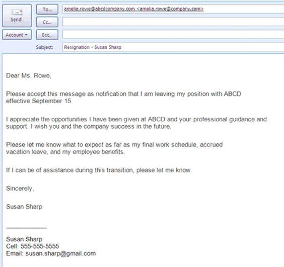 Best Formats For Sending Job Search Emails Letter Sample