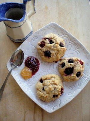 {Berry Scones} #glutenfree
