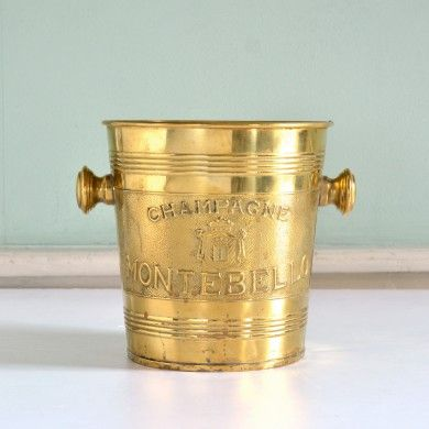 A French champagne bucket,