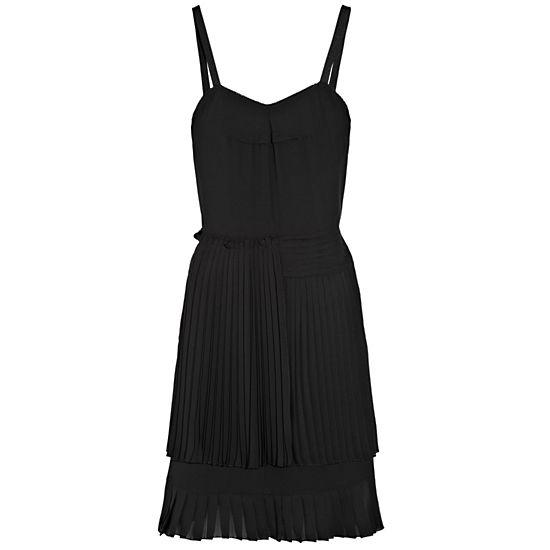 See by Chloé Pleated Crepe Dress