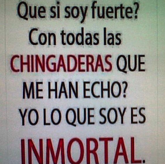 Soy inmortal
