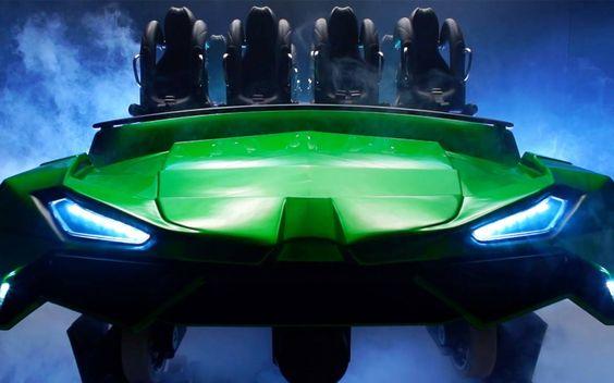 New Hulk rollercoaster