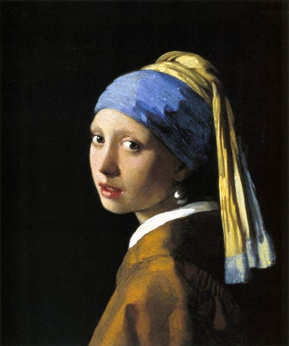 """""""Girl with a Pearl Earring"""" by Vermeer"""
