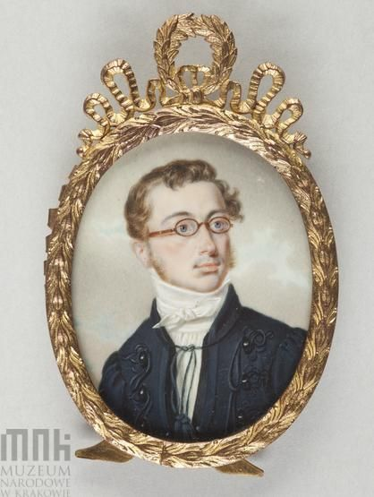 Marszałkiewicz, Stanisław (1789-1872), Portrait of Franciszek Moszczeński (1794 - 1863), after 1830 Krakow, National Museum: