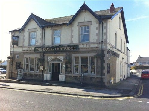 The Dog and Partridge, Bare, Morecambe. The pub where I drank my first pint of beer.