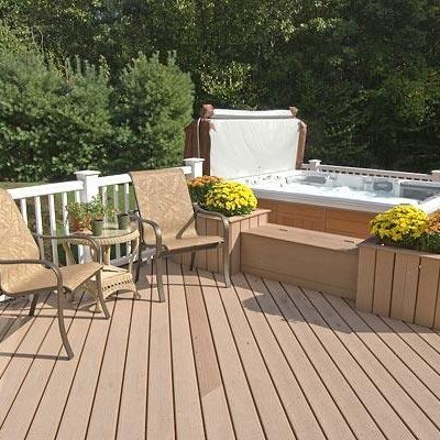 TimberTech composite decking and railing