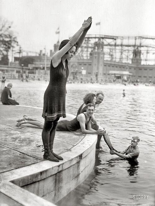 Starlight Park in The Bronx, NY, 1921