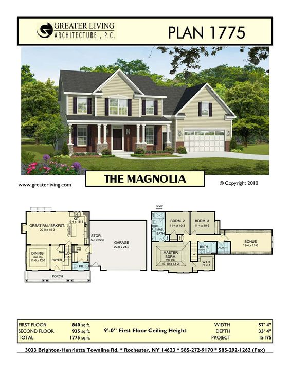 Magnolia House Plans House Design Plans